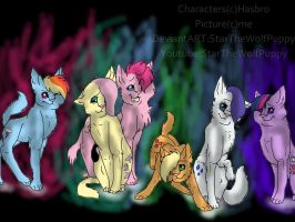 MLP FIM Cat Form by StarTheWolfPuppy