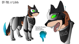 Reference :: DT-781 (Lilith) by Hollowed-Chimera