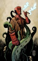 Hellboy by juanromera
