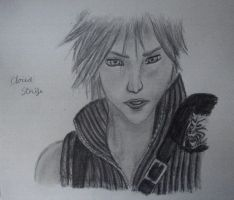 Cloud Strife by twinkelsparky1