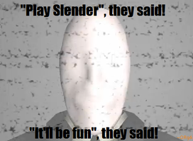 Play Slender by OrangeRamen75
