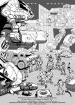 Battletech: 'mech bay fight by Mecha-Zone