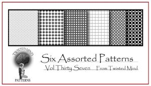 Twisted Mind Assorted Pattern Set 37 by Textures-and-More