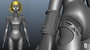 Aigis 3Dmodel  more screenshot WIP by QUICKMASTER
