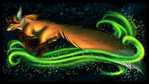 Run with the Northern Lights by Kirsui