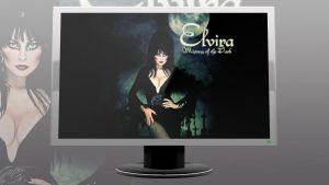 Elvira Mistress of the Dark Graveyard by therockchild