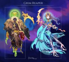 Commission: Grim Reapers Design by Hassly