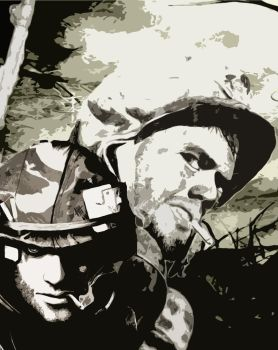 brothers in arms by LazyLacy