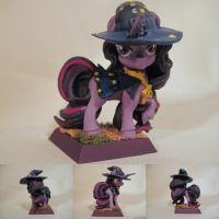 Table-Top Miniature: Twilight the Wizard by NPCtendo