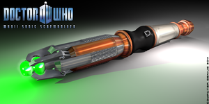 Mk.VII Sonic Screwdriver by ComputerGenius