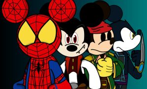 Mickey Mouse Shattered Dimensions by CK-was-HERE
