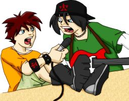 Tommy and Jason by blaster219