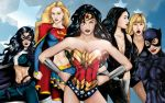 Women of DC Wallpaper by JGiampietro