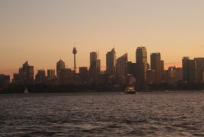 Sydney skyline by Cogs90