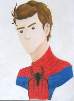 Andrew Garfield as Spiderman by bronzebug
