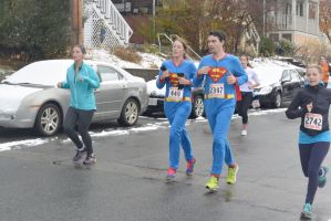 2014 Gobble Gobble Turkey Run, the Super Couple by Miss-Tbones