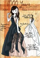 1000 Years Costume Design by EllieJoy