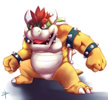 Bowser by LeoZeke