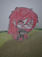 Chibi Grell by vampfreak17