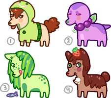 Mini Adopts 2 - C L O S E D by goIdfishy