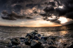 The waves come rolling by II by Allegoria-Images