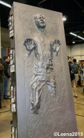 Han Solo in Carbonite by Leena-A