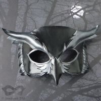 Nightowl Leather Mask by Beadmask