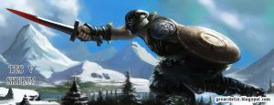 Fan Art Skyrim by GENocideFJS