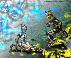 Yin and Yang - Transformer style by Gexon
