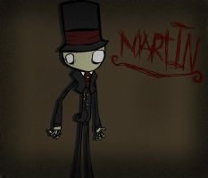 Martin The Puppet (creepy) by combine345