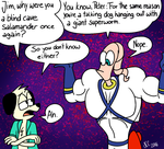 Why was Earthworm Jim a blind cave salamander by NatalieTheAntihero