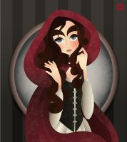 Once Upon A Time - Little Red Riding Hood by elledupl