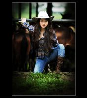 the cowgirl by ycksuryadi