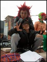 Axel is a creep. by waffies