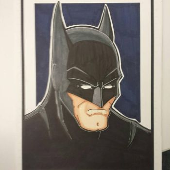 Batman colored and finished. by drtidigler