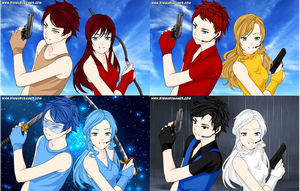 Look at these handsome and beautiful TF OCs by liongirl2289