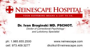 Doctor Kolkol Business Card by Arkham-Insanity