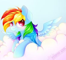 Rainbow Dash [MLP] by TwistedMindPony
