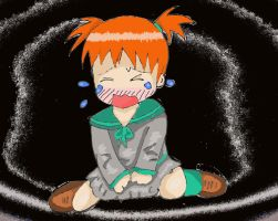 crying chibi colored by ninjalove134