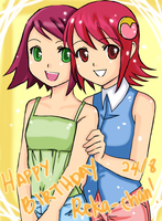 .:Happy Birthday Reka-chan:. by Na-Nami