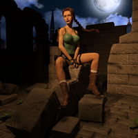 Classic Raider 9 by tombraider4ever