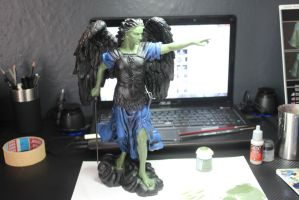 Angel WIP 2. by Insuppressible