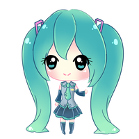 Miku Hatsune by BZSarahHime