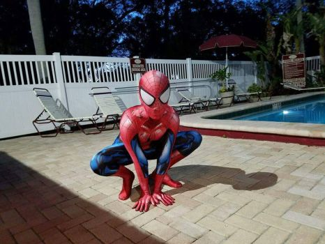 My Ultimate Spider-Man Cosplay by HonorAmongScars