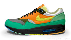 FF13 - Hope Air Max 1 by kawstussyx-x