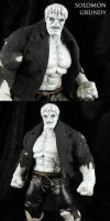 Custom Solomon Grundy action figure by Jin-Saotome