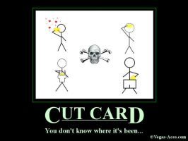 The Cut Card by Qtsy