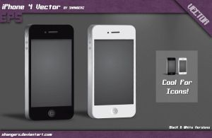iPhone 4 Vector by shangerz
