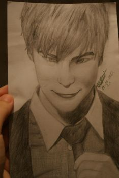 Chace Crawford Drawing Try Better Quality by endika1995