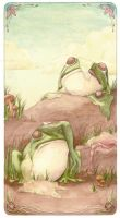 aesop's ox and the frog 2 by tabukimo